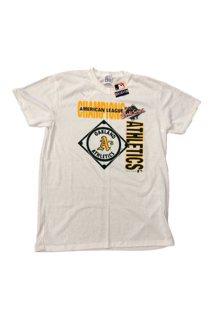 Vintage 1988 Athletics World Series T-Shirt Size X-Large