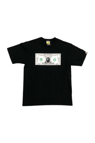 Bape Money Ape T-Shirt Size X-Large
