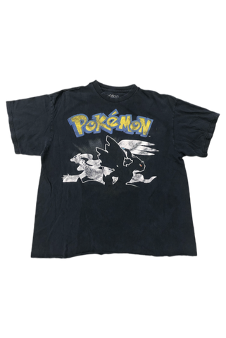 Vintage 2011 Pokemon Black & White T-Shirt Size Large
