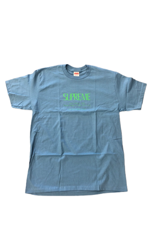 Supreme Anno  Domini Light Blue T-Shirt Size Medium