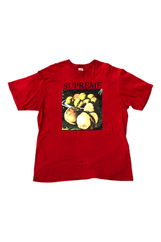 Supreme Red Still Life T-Shirt Size X-Large
