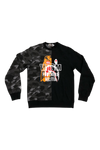 Bape Split Tiger Shark Crewneck Size X-Large