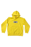 Supreme Yellow Franklin Hoodie Size Large
