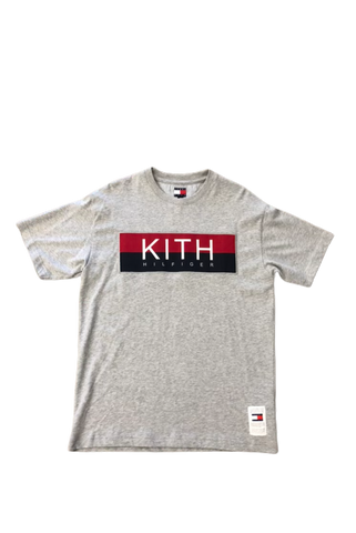 Kith Tommy Hilfiger Grey T-Shirt Size Medium