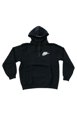 Supreme Nike Black Snakeskin Hoodie Size Medium