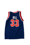 Vintage 90's Pistons Grant Hill Champion Jersey Size Youth Medium