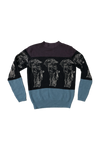 Palace Statue Knit Sweater Size Medium