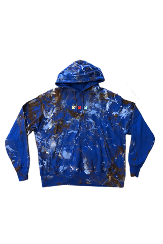 Pluto Heights Working Class Painted Hoodie