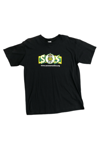 Vintage 2007 Save Our Sonics T-Shirt Size Large