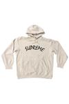 Supreme Grey FTP Arc Hoodie Size X-Large