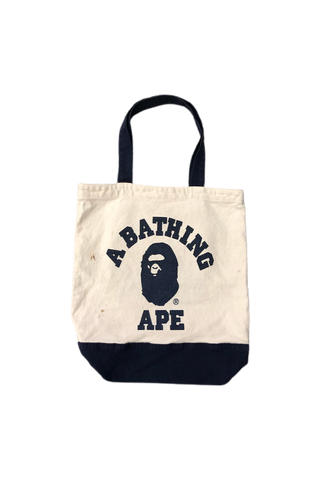 Bape College Logo Tote Bag