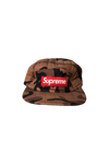 Supreme Brown Camo Quilted Hat
