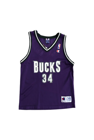 Vintage 90's Bucks Ray Allen Jersey Size Youth Large