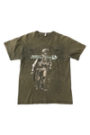 Vintage 2009 Call Of Duty MW2 Olive T-Shirt Size Medium
