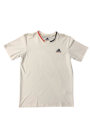 Palace Adidas White T-Shirt Size Medium