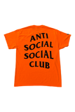Anti Social Social Club Paranoid T-Shirt Size Large