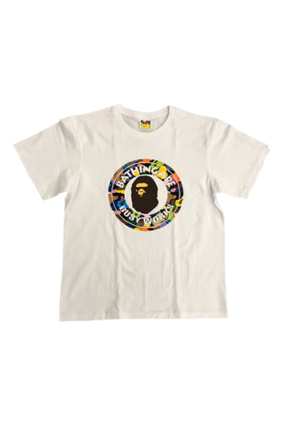 Bape Multi Color Busy Works T-Shirt Size Large