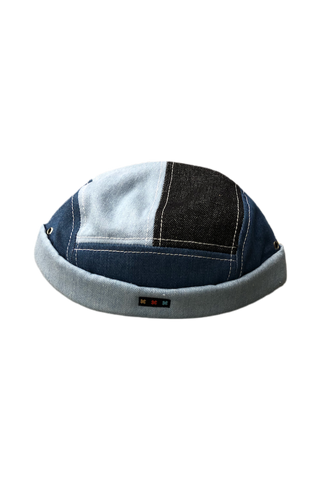 Pluto Heights Denim Patchwork Cap
