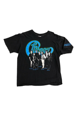Vintage 1990 Chicago Band T-Shirt Size X-Large