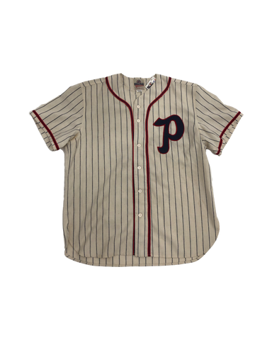 Vintage 50's Portland Beavers Game Worn Jersey Size Extra Large
