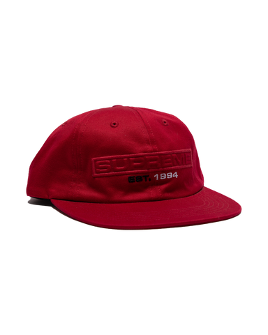 Red supreme hat