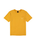 Reversed Terry Pocket T-Shirt