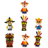 Kidrobot Crash Bandicoot Mini Vinyl Series