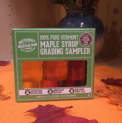 Vermont Maple Syrup - Grading Sampler Gift Set