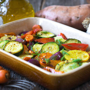 Tuscan Style Roasted Vegetables