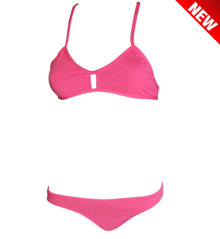 DUAL LAYER KNOTTY ACTIVE BIKINI - Pink (Items sold separately)