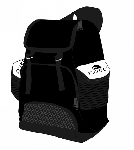 Draco Backpack - Black and White