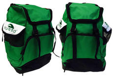 Draco Backpack - Green and White