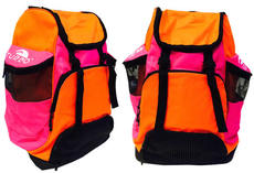 Draco Backpack - Orange and Pink