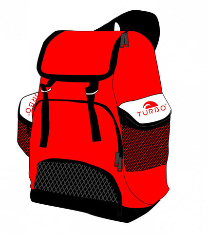Draco Backpack - Red