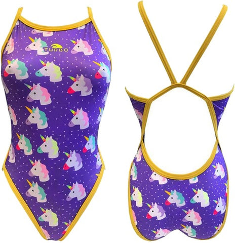 Kids Swimsuit - Happy Unicorns
