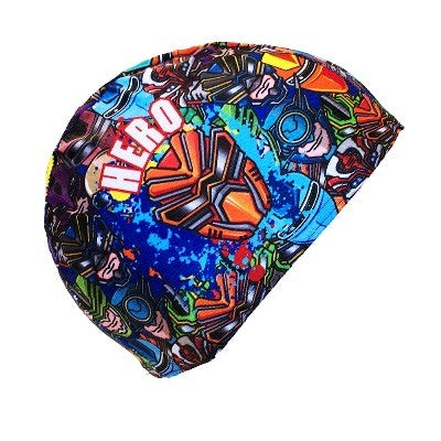 Kids Future heroes Lycra swimming cap