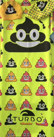 Kids Microfibre Towel - Happy Poo