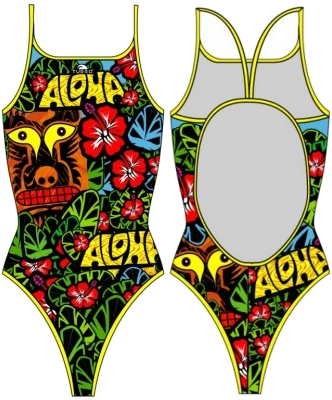 Aloha Swim Suit Women