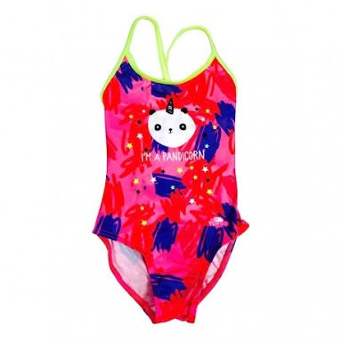 Kids Swimsuit - Happy Pandicorn