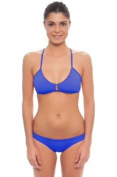 DUAL LAYER KNOTTY BIKINI - Royal Blue (Items sold separately)