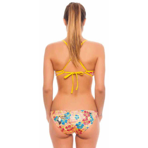 KNOTTY BIKINI - Tropical Toucan (Items sold separately)