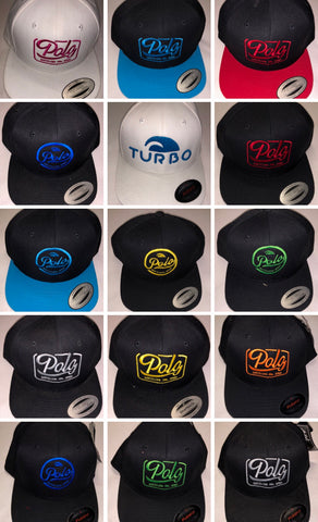 Turbo Snap backs and Baseball caps