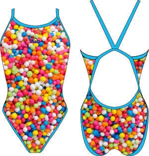 Gummy Revolution Swim Suit Women