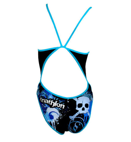 Triathlon Basic Suit - Skull