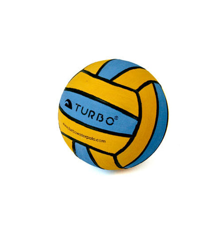 Mini Water Polo Ball - Yellow/Blue