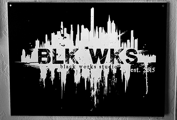 BLK WKS Wall Sign