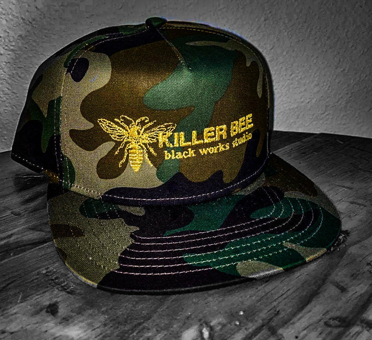 Killer Bee Camo Hat