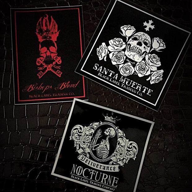 BLTC Sticker Set of Three