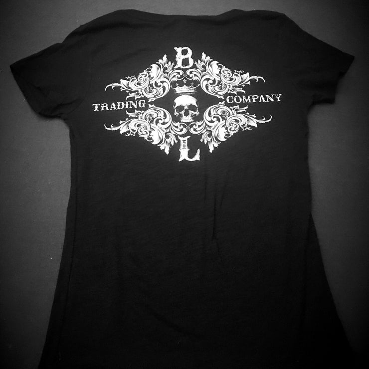 Ladies BLTC Logo V-Neck T-Shirt