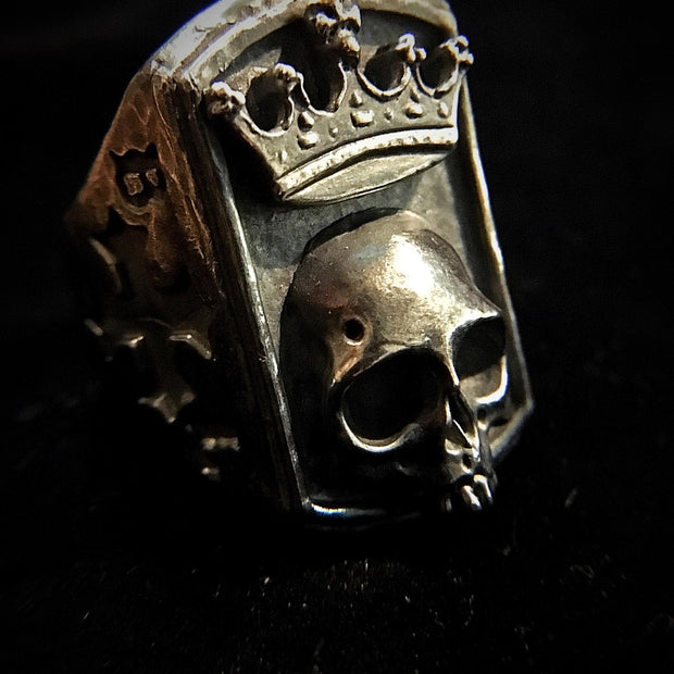 Black Label Heavy Crown Ring